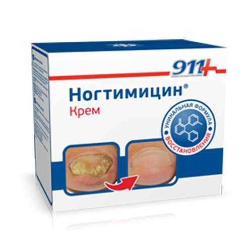 911 Ногтимицин крем д/ногтей