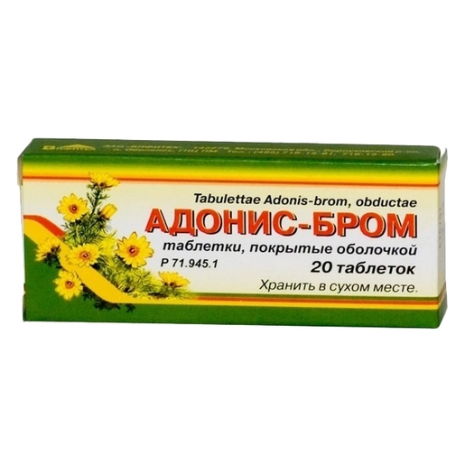 Адонис бром